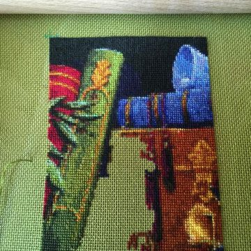 Train of Dreams – 30 hours stitched