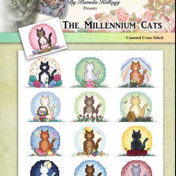 Millennium Cats by Kitty &  Me Designs