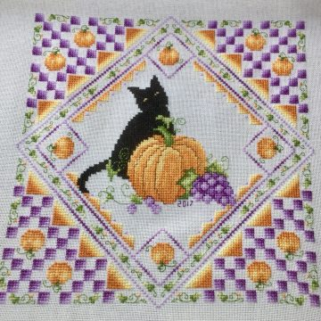 Halloween SAL – Part 3 by Kitty and Me Designs