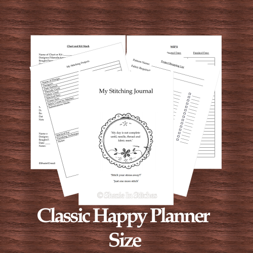 Classic Happy Planner Size