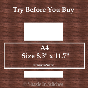 A4 Size – Try Before You Buy