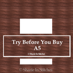 A5 Size – Try Before You Buy
