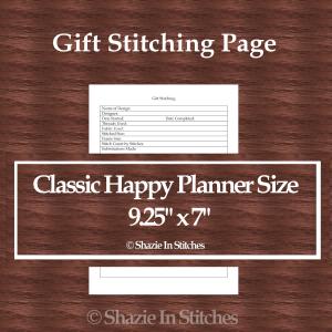 CHP – Gift Stitching Page