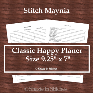 CHP – Stitch Maynia Pages