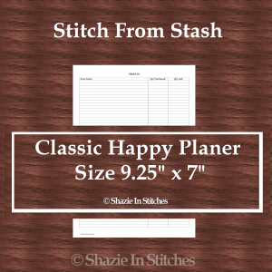 CHP – Stitch From Stash Page