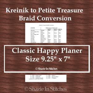 CHP – Kreinik to Petite Treasure Braid Conversion