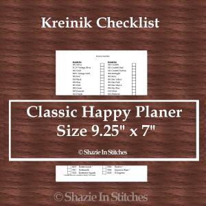 CHP – Kreinik Checklist