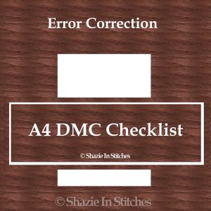Revised A4 DMC Checklist Single Page
